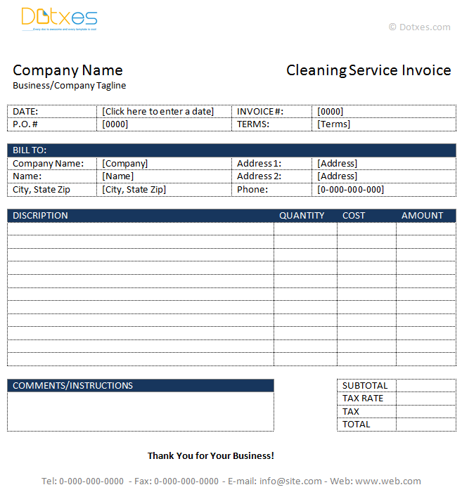 Cleaning-Service-Invoice-Template-(In-Microsoft-Word)