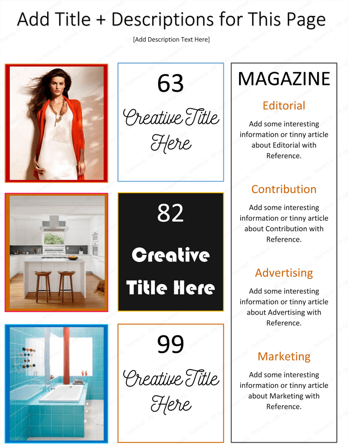 Magazine Template for Microsoft® Word - Page 02