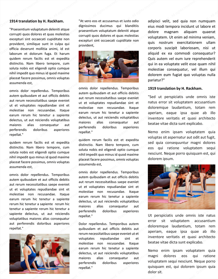 Magazine Template for Microsoft® Word - Page 05