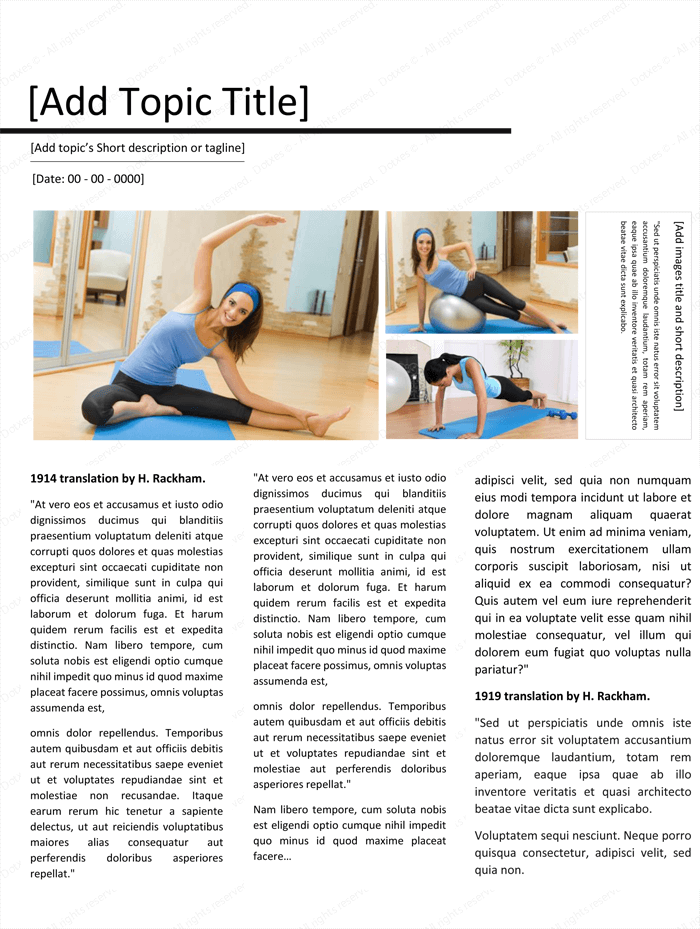 Magazine Template for Microsoft® Word - Page 06