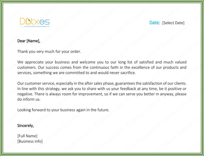 Thank You Letter To Client For Business.Customer Thank You Letter 5 Best Samples And Templates