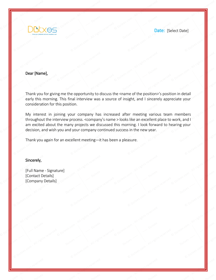 Letter to Boss for Permission
