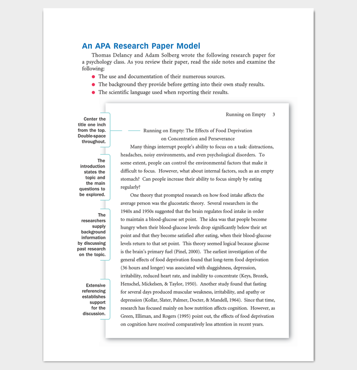 Research paper outline for role modeling