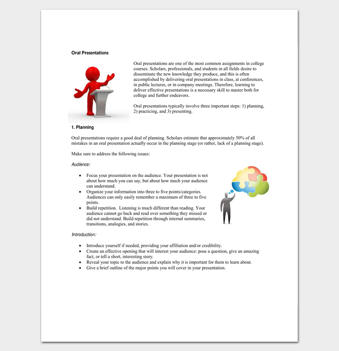 Presentation Outline Template - 19+ Formats for PPT, Word & PDF