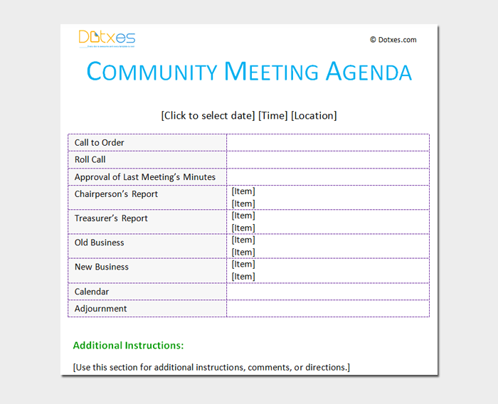 Community-Meeting-Outline-Template Table Of Contents Format Examples on references format example, letters format example, endnotes format example, synopsis format example, white paper format example, imrad format example, footer format example, blog format example, header format example, footnotes format example, abstract format example, glossary format example, copyright format example, appendix format example, index format example, html format example, faq format example, resources format example, resume format example, summary format example,