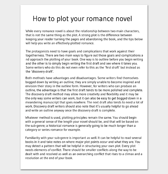 Comment tracer votre roman d'amour (Guide)