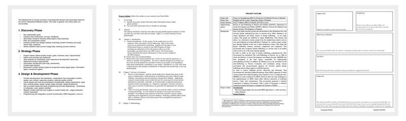 Project Outline Template