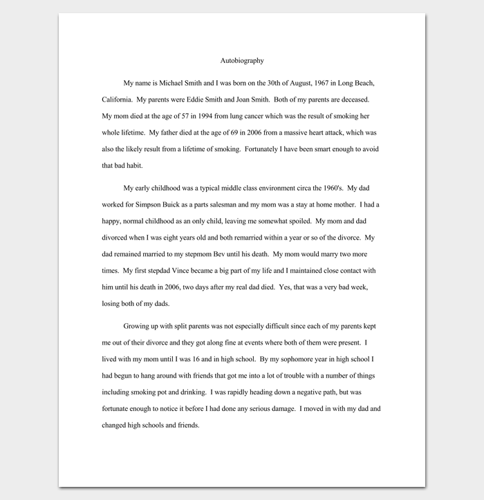 How to write a five paragraph essay about yourself