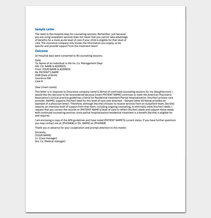 Write An Effective Claim Letter 10 Formats Samples