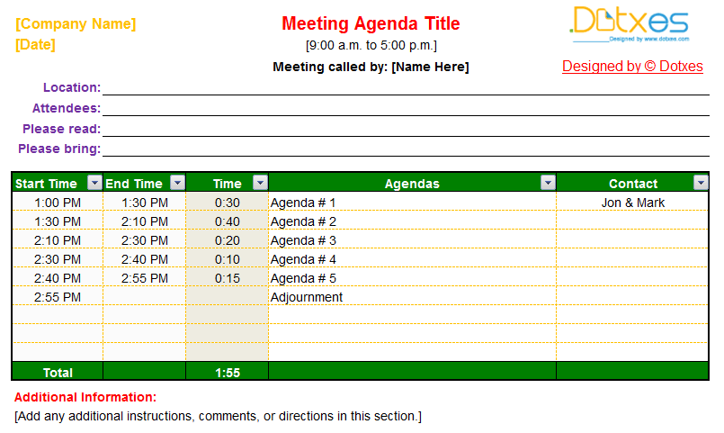 Meeting-agenda-template-(Auto-Adjustable)