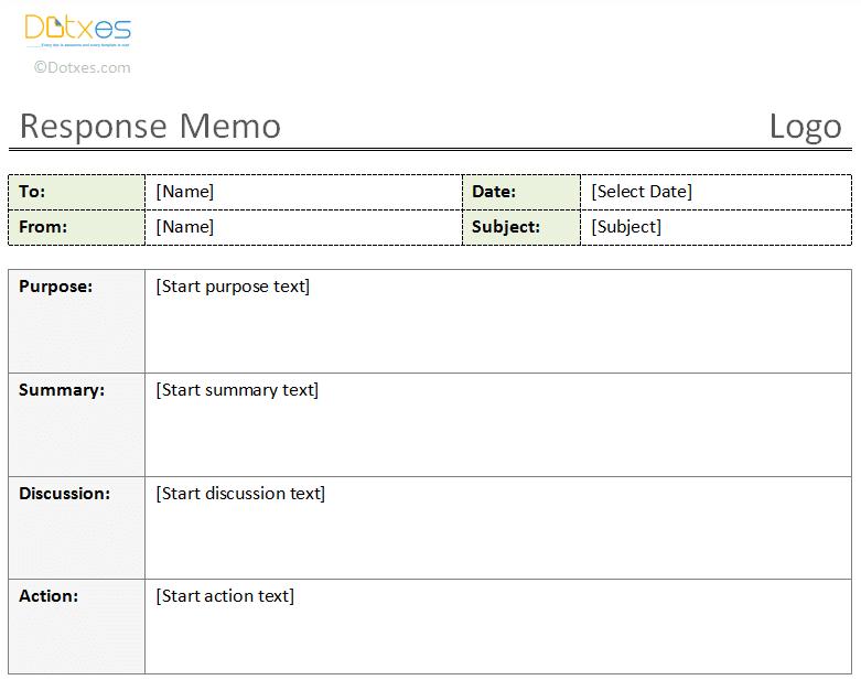 Response-Memo-Template-(New,-1.1)