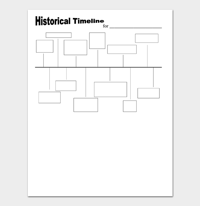 Home School History Timeline